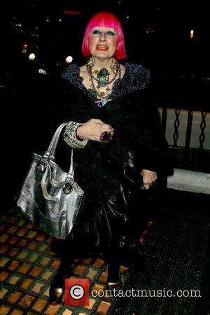 Zandra Rhodes Lanvin Flagship Store Launch - Outside Arrivals  London, England - 26.03.09