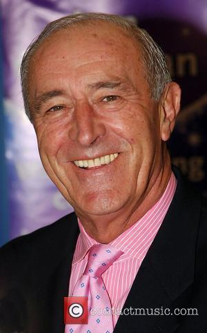 Len Goodman signing copies of his autobiography 'Better Late Than Never' at WH Smith in Westfield shopping centre London, England...
