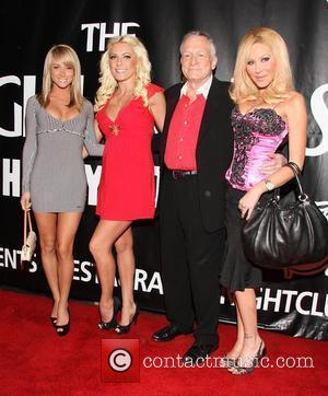 Sara Jean Underwood and Hugh Hefner