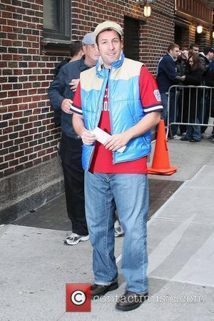 Adam Sandler and David Letterman