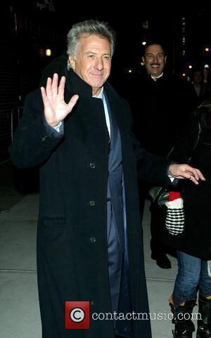 Dustin Hoffman and David Letterman