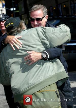 Robin Williams and David Letterman