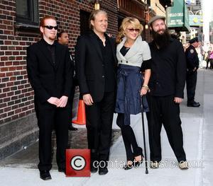 Melody Gardot and David Letterman
