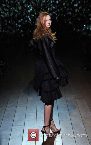 Lily Cole London Fashion Week Autumn/Winter 2009 - Qasimi - Catwalk London, England - 21.02.09