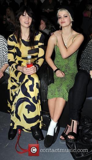 Daisy Lowe and Pixie Geldof