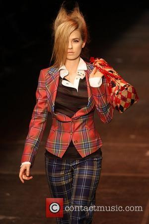 Model and Vivienne Westwood