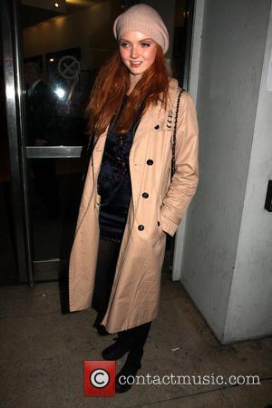 Lily Cole London Fashion Week Autumn/Winter 2009 - Vivienne Westwood- Departures London, England - 21.02.09
