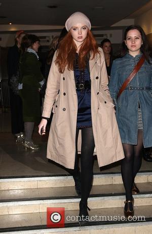 Lily Cole London Fashion Week Autumn/Winter 2009 - Vivienne Westwood- arrivals London, England - 21.02.09