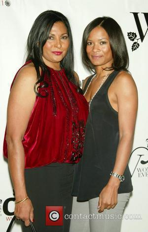 Pam Grier and Rose Rollins