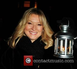 Gillian Taylforth Lights to Remember at Marie Curie Hospice London, England - 06.12.08