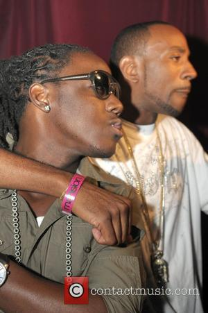 Ace Hood and DJ Q45 Rapper Lil Wayne celebrates his birthday at Club Mansion Miami, Florida - 07.10.08