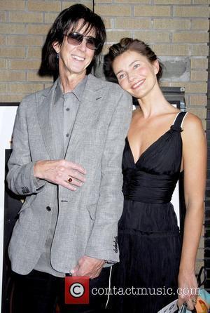 Ric Ocasek and Paulina Porizkova