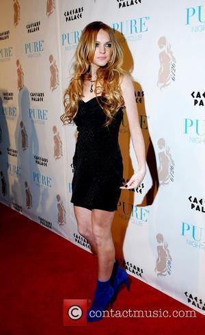 Lindsay Lohan Hosts and Lindsay Lohan