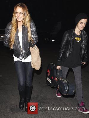 Health Fears Over Lohan's Skeletal Photos