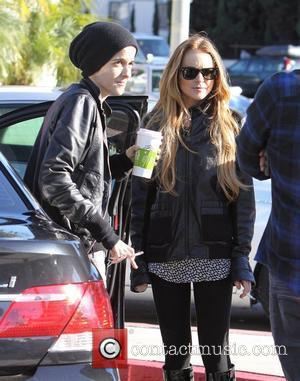 Dj Samantha Ronson and Lindsay Lohan