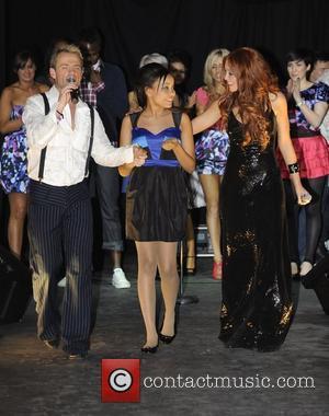 Julian Bennett, Dionne Bromfield and Natasha Hamilton