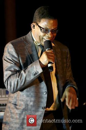 Herbie Hancock performs at the 'Living Dream' concert to mark the 50th anniversary of Martin Luther King's visit to India...