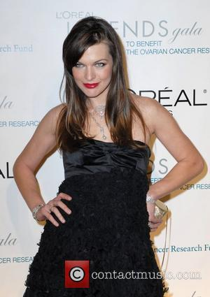 Milla Jovovich L'Oreal Legends Gala to Benefit The Ovarian Cancer Research Fund New York City, USA - 10.11.08