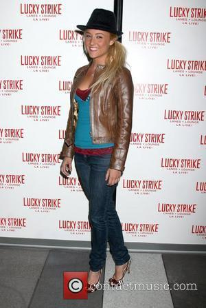 Lauren Mayhew The grand opening of Lucky Strike Lanes LA Live - arrivals Los Angeles, California - 21.11.08