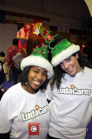 Cheryl Talley and Ludacris