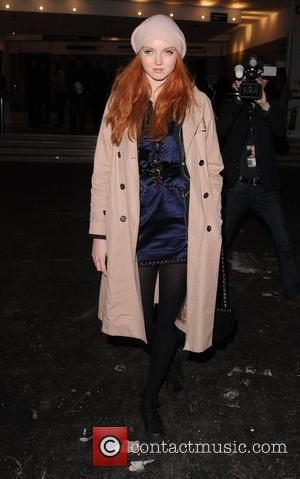 Lily Cole London Fashion Week Autumn/Winter 2009 - Vivienne Westwood- front row London, England - 21.02.09