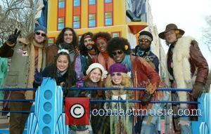 Will Swenson and the Broadway Cast of 'Hair' at the Macy's Thanksgiving Parade New York City, USA - 27.11.08