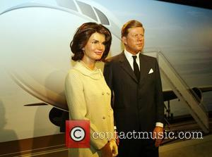 Jackie Kennedy and John F Kennedy