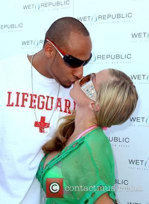 Hank Baskett and Kendra Wilkinson Memorial Day weekend kick off party at Wet Republic at MGM Grand Resort Casino Las...