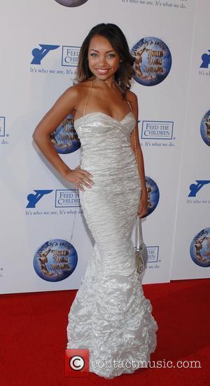 Logan Browning World Magic Awards held at Barker Hanker, Santa Monica Airport - Arrivals Santa Monica, California - 11.10.08