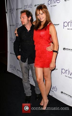 Malin Akerman and Roberto Zincone