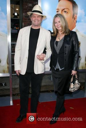 Micky Dolenz and guest Los Angeles Premiere of 'Paul Blart: Mall Cop' held at Mann Village Theatre - arrivals Los...