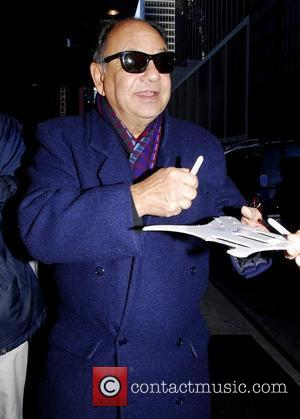 Cheech Marin, Bundled Up To Brave The Chilly Temperatures, Out and About In Manhattan