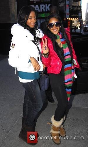 Vanessa Simmons and Angela Simmons out and about in Manhattan New York City, USA - 31.01.09