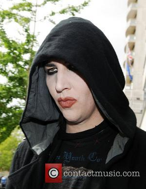 Marilyn Manson leaving a central London hotel  London, England - 28.05.09