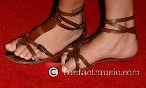 Rhona Mitra World Premiere of Markus Klinko and Indrani's 'Icons Exhibition' held at Pacific Design Center West Hollywood, California -...