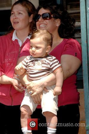 Marissa Jaret Winokur and son Zev Marlee Matlin honored with a Star on the Hollywood Walk of Fame Los Angeles,...