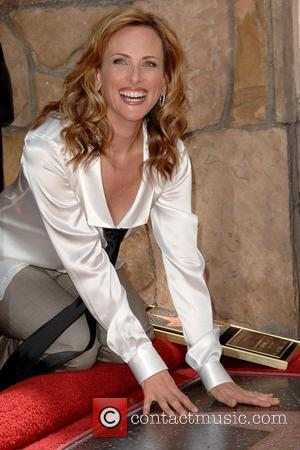 Oscar-winning actress Marlee Matlin  Marlee Matlin honored with a Star on the Hollywood Walk of Fame Los Angeles, California...