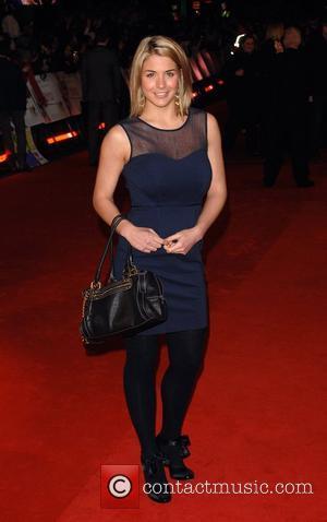 Gemma Bissix Marley And Me - UK film premiere held at the Vue West End - Arrivals London, England -...