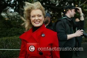 Mary Hart and White House
