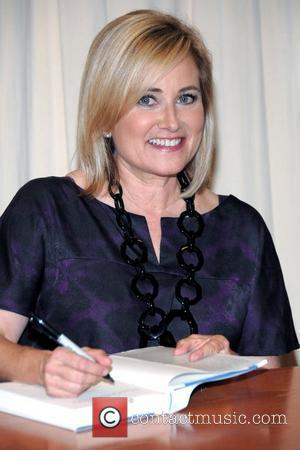 Maureen McCormick signs copies of her book 'Here's The Story' at Barnes & Noble in Rockefeller Plaza New York City,...