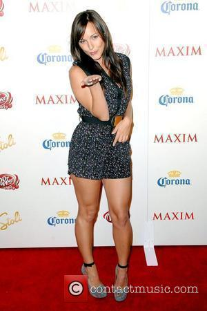 Briana Evigan Maxim's 10th Annual Hot 100 Party at The Barker Hanger - Arrivals Los Angeles, California - 13.05.09