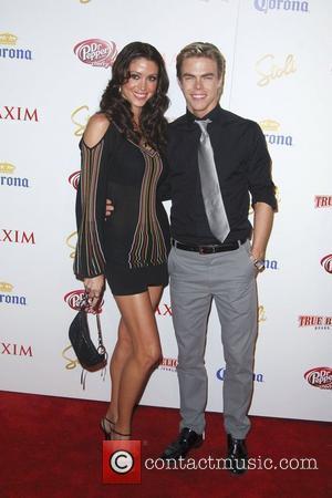 Shannon Elizabeth and Derek Hough