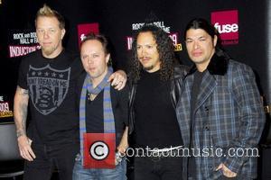 James Hetfield, Kirk Hammett, Lars Ulrich and Robert Trujillo