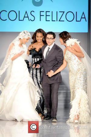 Miss Universe Dayana Mendoza, Miss USA Crystle Stewart, Nicolas Felizola and Patricia Manterola Miami Fashion Week - Nicolas Felizola Collection...