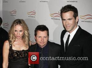 Tracy Pollan, Michael J. Fox and Ryan Reynolds
