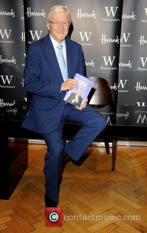 Michael Parkinson signing copies of his autobiography 'Parky' at Waterstones in Harrods London, England - 02.10.08