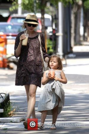 Michelle Williams and Her Daughter Matilda Go Out For A Morning Coffee In Brooklyn