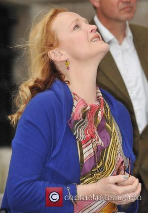 Miranda Richardson rings out the bells at St. Paul's Cathedral for the international day of biodiversity in support of the...