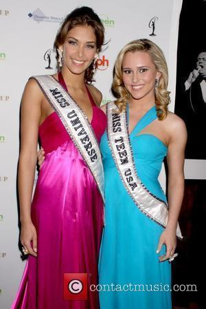 Dayana Mendoza and Stevi Perry 2009 Miss USA Pageant at the Planet Hollywood Resort Casino - Arrivals Las Vegas, Nevada...
