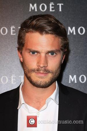 Jamie Dornan Moet & Chandon: A Tribute To Cinema held at the Big Sky Studios. London, England - 24.03.09